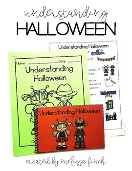 Understanding Halloween- Social Story for Student's with S