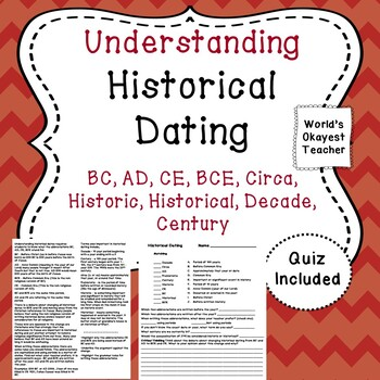 Understanding Historical Dating: BC, AD, CE, BCE, Circa, Historic, Historical