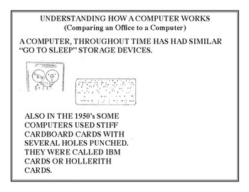 Understanding How A Computer Works - Comparing An Office To A Computer