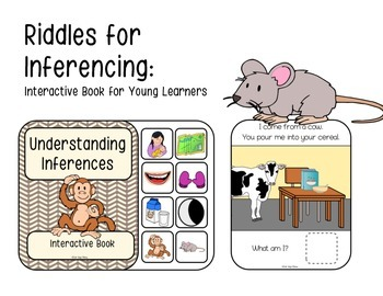Riddles: Interactive Book for Young Learners (Speech Therapy)
