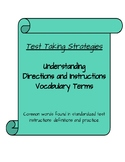Understanding Instructions and Directions Words