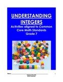 Understanding Integers Aligned to Common Core Standards