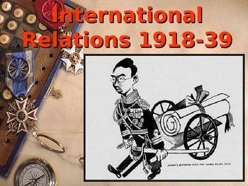 Understanding International Relations 1918 to 1939 Quiz