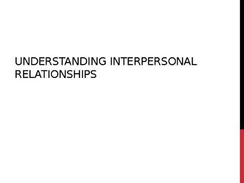 Understanding Interpersonal Relationships