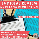 Understanding Judicial Review: What If It Didn't Exist? (S