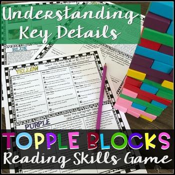 Understanding Key Details Comprehension Game