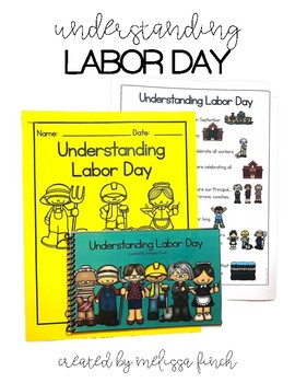 Understanding Labor Day- Social Story for Student's with Special Needs