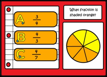 Understanding & Learning Fractions SMART notebook lesson