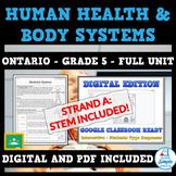 Grade 5 - HUMAN ORGAN SYSTEMS - Science Full Unit