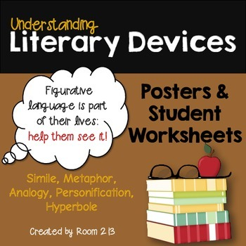 Understanding Literary Devices: Posters and Worksheets