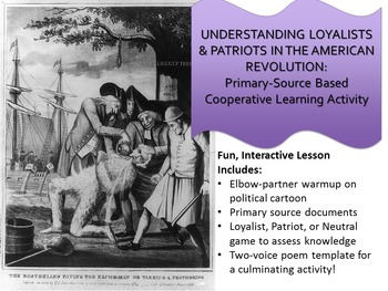 Understanding Loyalists & Patriots in the American Revolution