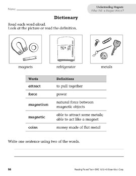 Understanding Magnets (Reading Paired Text)