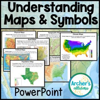 Understanding Maps Symbols Compass Rose Interactive Journal Project