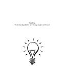 Understanding Matter and Energy: Light & Sound Unit (8 Les