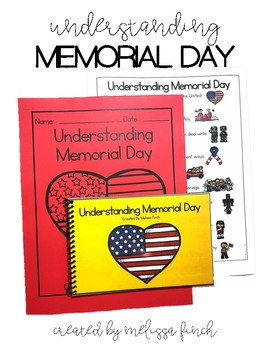 Understanding Memorial Day- Social Story for Students with Special Needs