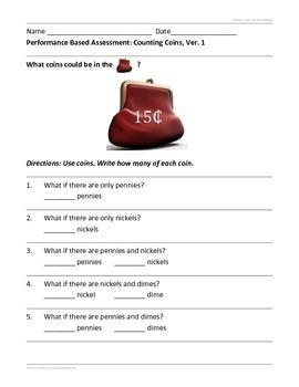 Understanding Money Resources--1st Grade