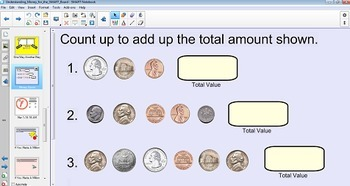 Understanding Money for the SMART Board w/ Homework {Common Core Aligned}