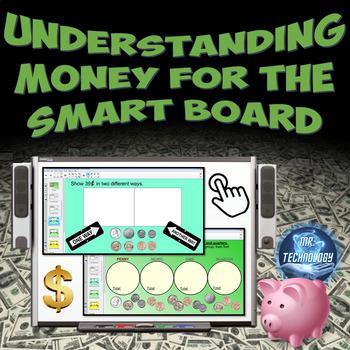 Understanding Money for the SMART Board w/ Homework {Common Core Aligned}