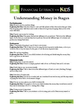 Understanding Money in Stages