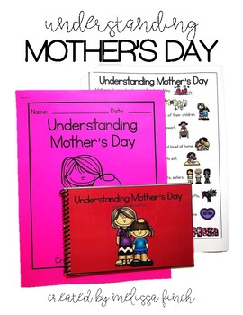 Understanding Mother's Day- Social Story for Students with Special Needs