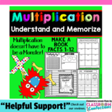 Multiplication Worksheet Activities: Multiplication Facts No Prep