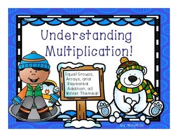 Multiplication-WINTER THEMED!