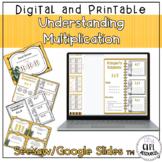 Understanding Multiplication - 3.OA.1 with Google Slides