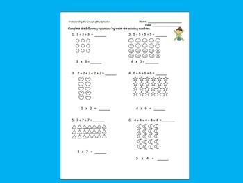 Understanding Multiplication Arrays