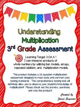 Understanding Multiplication Assessment-Curriculum Associa