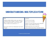Understanding Multiplication Ice Cream Activity ~ 3rd Grade Envision Topic One