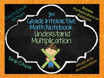 Understanding Multiplication Notebook Pages Aligned with 3rd grade GO Math!