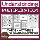 Understanding Multiplication - Conceptual Cards and Activities