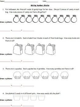 Understanding Multiplication Through Word Problems (Using Pictures to Solve)