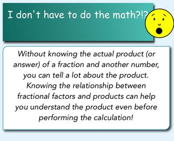 Understanding Multiplication by Fractions Greater than or Less than 1 5.NF.5b