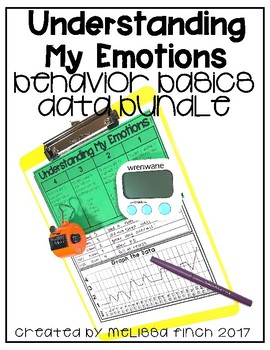 Understanding My Emotions- Behavior Basics Data Bundle