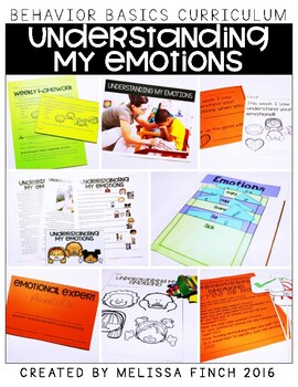 Understanding My Emotions- Behavior Basics Program for Special Education