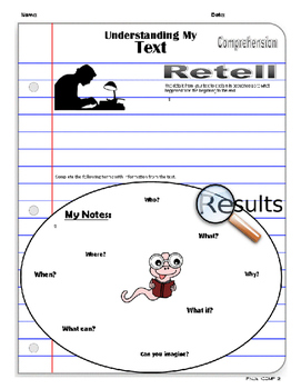 "Reading Comprehension-""Understanding My Text"""
