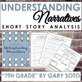Narrative Short Story Worksheet and Graphic Organizer for 7th Grade