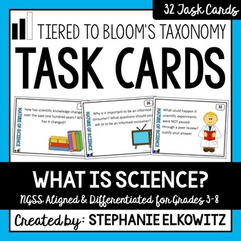 Understanding the Nature of Science Task Cards (Differenti