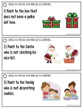 Understanding Negation in Sentences: Christmas Edition