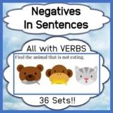 Negatives and Verbs in Sentences