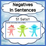 Negatives in Sentences