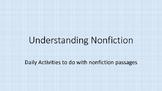 Understanding Nonfiction