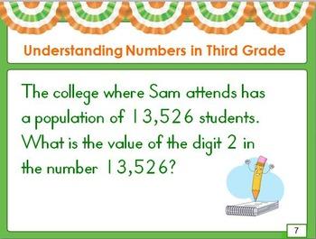 Understanding Numbers in Third Grade