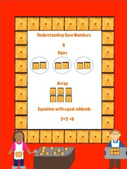 Understanding Odd and Even Numbers with Cheez-its