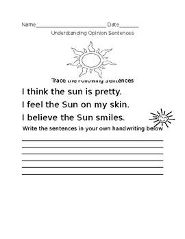Understanding Opinion Sentences- Low Level