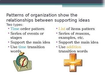 Understanding Patterns of Organization