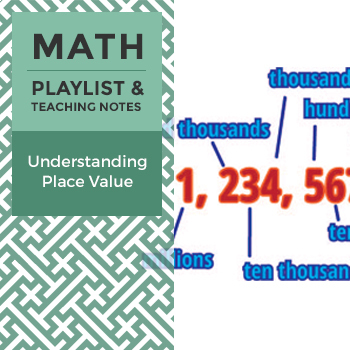 Understanding Place Value - Playlist and Teaching Notes