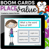 Understanding Place Value Boom™ Cards - Distance Learning