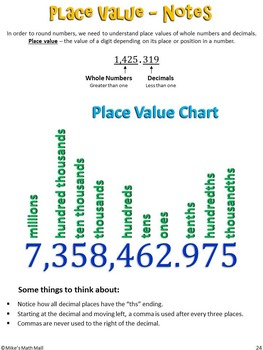 Place Value (Mini Bundle)